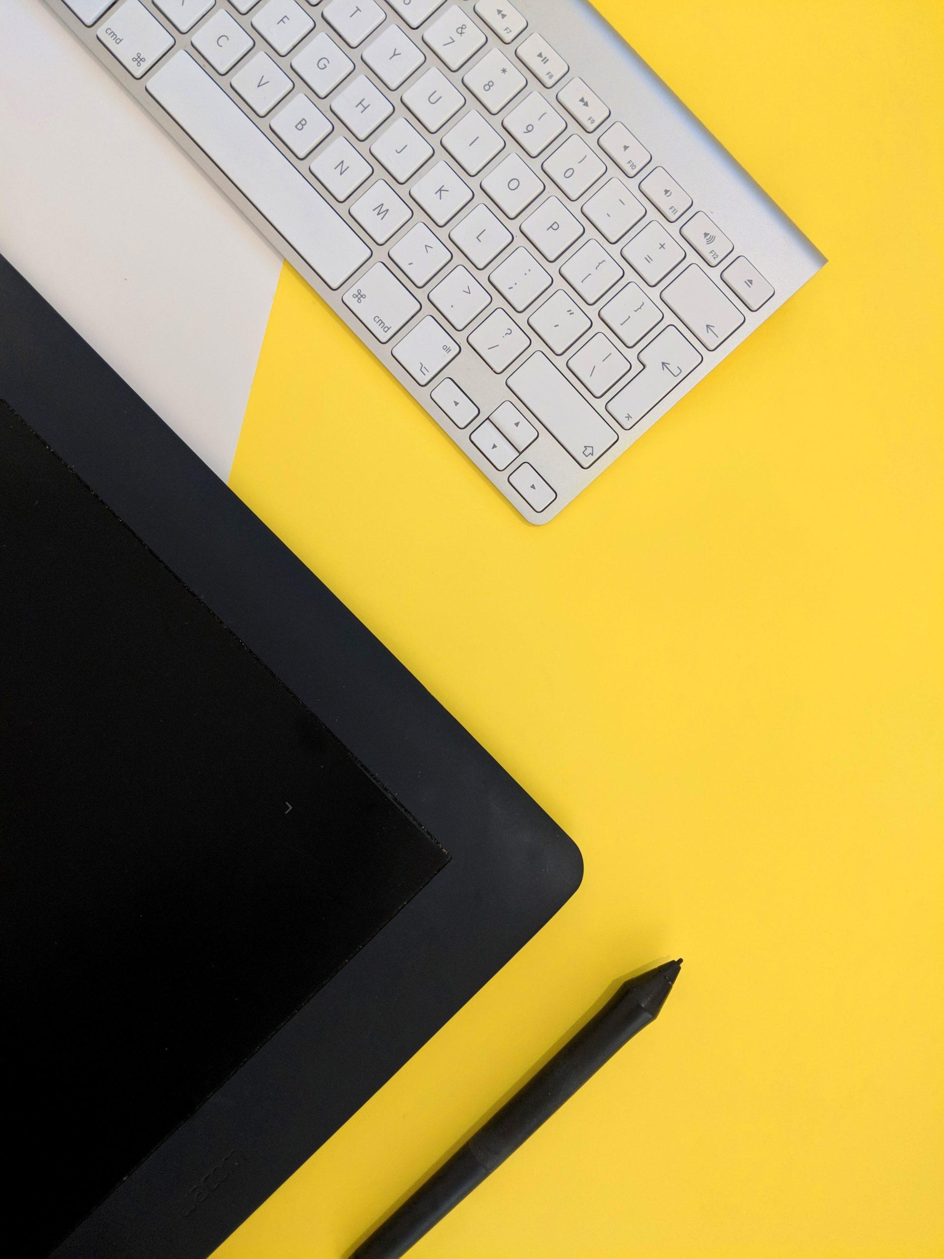Tastatur Gelb